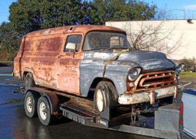 1956 Chevrolet Long Wheelbase Panel Van