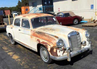 1958 Mercedes Ponton 220S Automatic