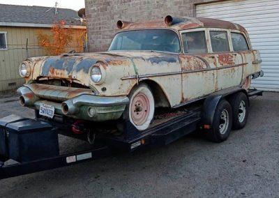 1956 Pontiac Abulance